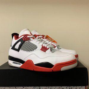 Jordan Retro 4 Fire Red